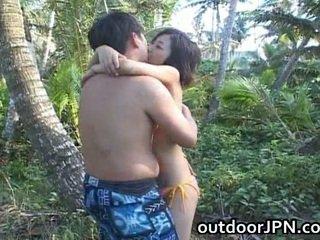 hardcore sex, utendørs sex, blowjob