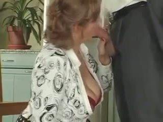 Slut mature fucks stepson of neighbouring