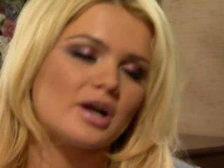 blonde, muie acțiune, cock suge