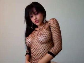 Abella anderson 跳舞 裸 在 她的 室