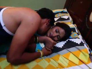 อินเดีย แม่บ้าน โรแมนติก ด้วย newly แต่งงานแล้ว bachelor - midnight masala ภาพยนตร์ -