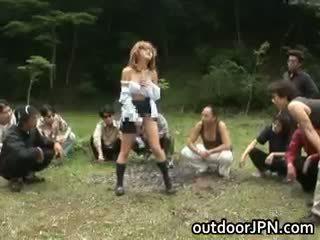 japanse vers, groepsseks mooi, mooi interraciale ideaal