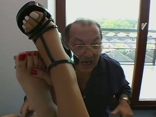 Aebn sakcara vod: cute brunettes get fingered by old guy