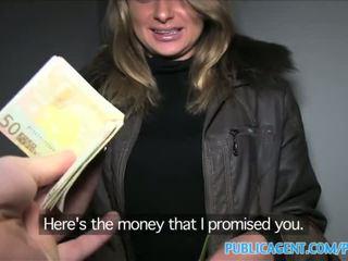 Publicagent loud seks dengan panas warga rusia babe