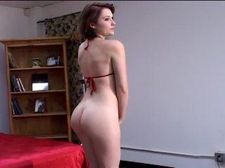 bruneta, veľké prsia, krása