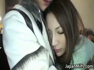 japonais, bébé, mature