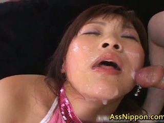 Haruka andou azjatyckie nastolatka szmata gives