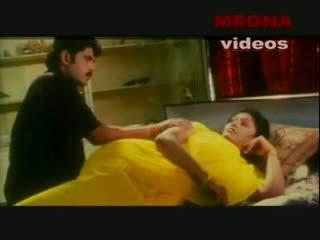 Indisk mallu skuespiller enjoying med henne boyfriend