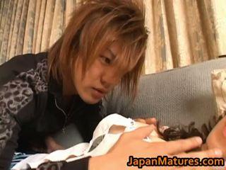 japonijos, japonija, mama ir berniukai