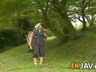 포도 수확 일본의 빌어 먹을 outdoors