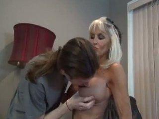 Son biggest cock fuck his mom in law