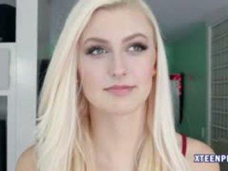 Slim Teen Alexa Grace Banged N Creampied