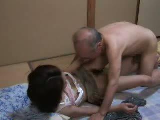 Japanese Grandpa Ravishing Teen Neighbors Daughter Video
