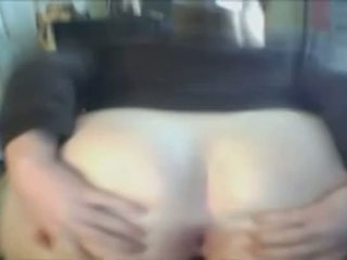 Chubby Teen Spreads Ass For You