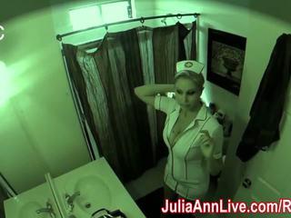 Asistenta julia ann visits pentru an oral examen!