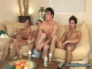Gej film sceny z super hawt studs w gej czworokąt 5 przez randyblow