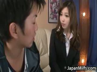 japonés, bebé, maduro