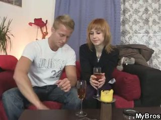 Cheating girlfriend is caught red-handed