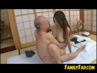 Step Daughter On Old Dick