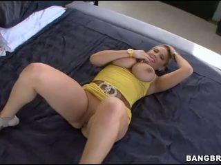 Tüdruk on licked ja banged