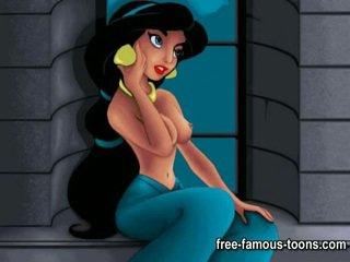 Aladdin och jasmine porr parodi