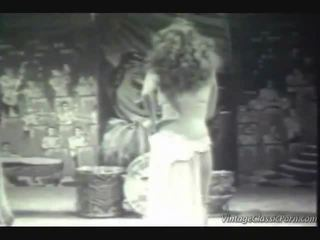 Tappning exotiska dancer