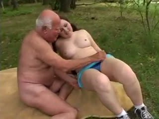 Grandpa Mireck - a Fuck in the Forest, Porn a8
