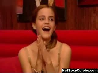 Emma watson su friday notte con jonathan ross