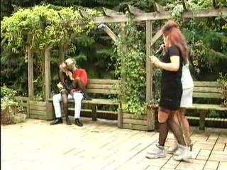 orgy (group), voyeur, redhead