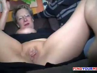 riding, granny, mother