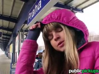 Mofos - Gina Shows her tiny tits on the train