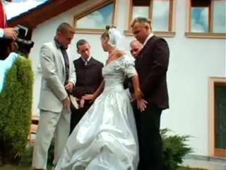 wedding, 歐洲的, 狂歡