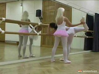 Sapphic ballet lányok