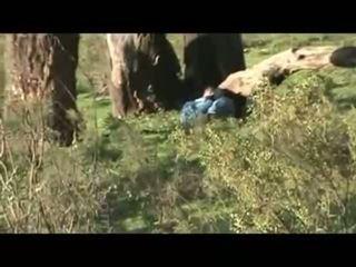 Hijab arab kön outdoors-asw1144
