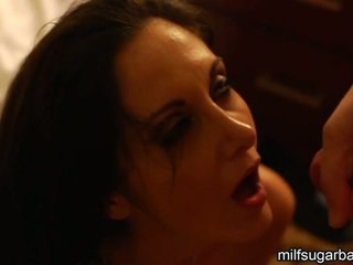 Ava Addams Has Cumload And Showering