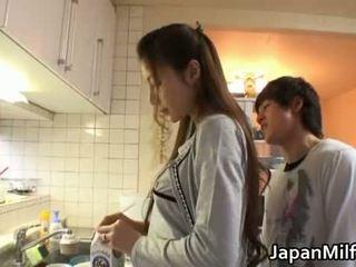 japonisht, kuzhinë, milf