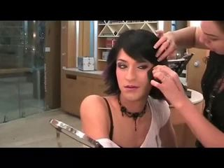 makeup, crossdresser, nägu