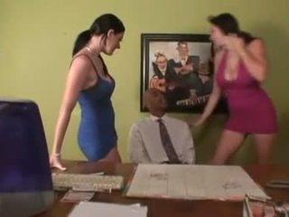 nóng nhất ngực lớn, văn phòng, pornstars