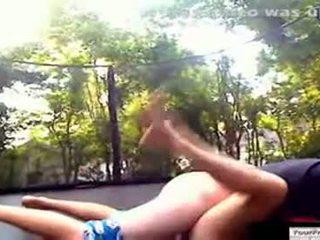 Підліток trampoline секс