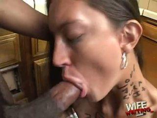 Essy moore doing a ťažký hlava práce pre čierne lad