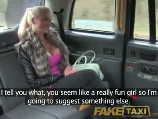 Faketaxi finland beauty with susu to die for