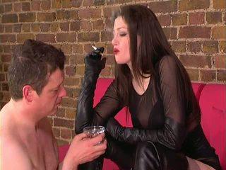 Boot Boy and Smoking Boot Lady, Free BDSM Porn dd