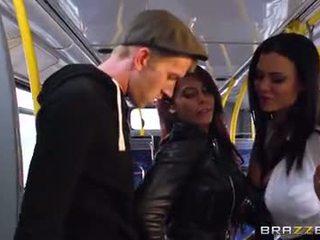 Autobus bouchání pro sexy holky madison ivy a ja