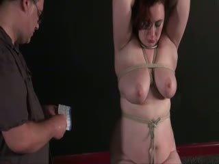 Amateur Needle Torture of busty english slaveslut