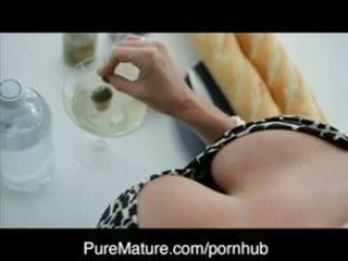 PureMature Martini Turn On With Milf Veronica Avluv