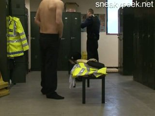 droit, caché, lockerroom