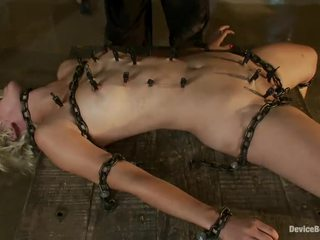 Batty Torture Motion Near Blonde Chloe Camilla In Pain Satisfaction Vid