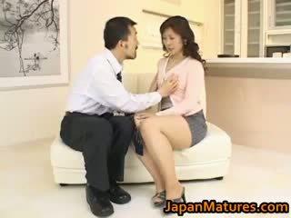 Hitomi kurosaki eldre asiatisk kvinne part3