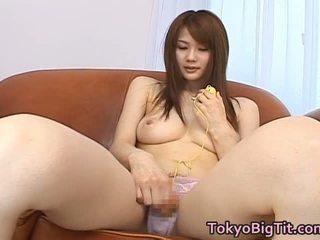 하드 코어 섹스, 큰 가슴, 아시아 빨아 큰 가슴