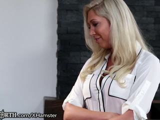 British Mom Horny for Her Step-son, Fr...